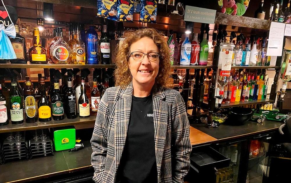 Heidi Hundevadt, indehaver af Høng Center Pub. Privatfoto