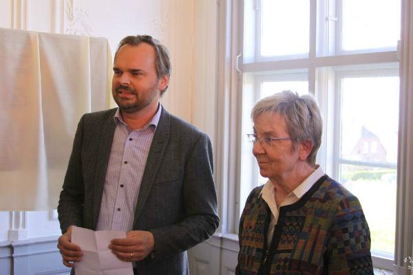 Kulturminister Marianne Jelved