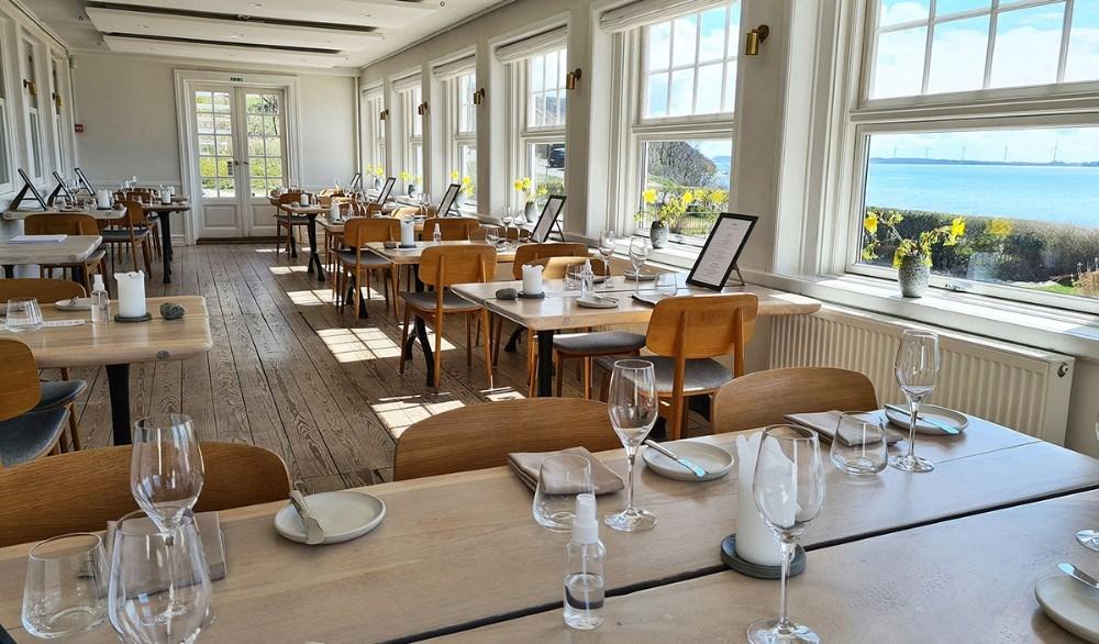 Restaurant Næs gourmet i havestuen. Privatfoto