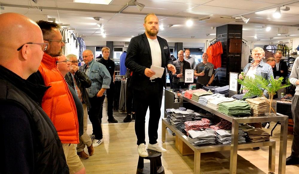 Thomas Nielsen, butikschef hos Bech Menswear. Foto: Jens Nielsen