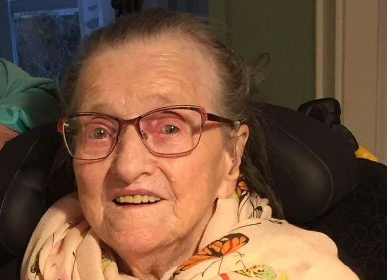 Helena Sørensen 100 år. Privatfoto