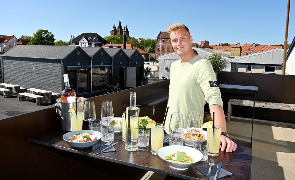 Asger Øgelund klar med et helt nyt koncept i Asgers Bar. Foto: Jens Nielsen