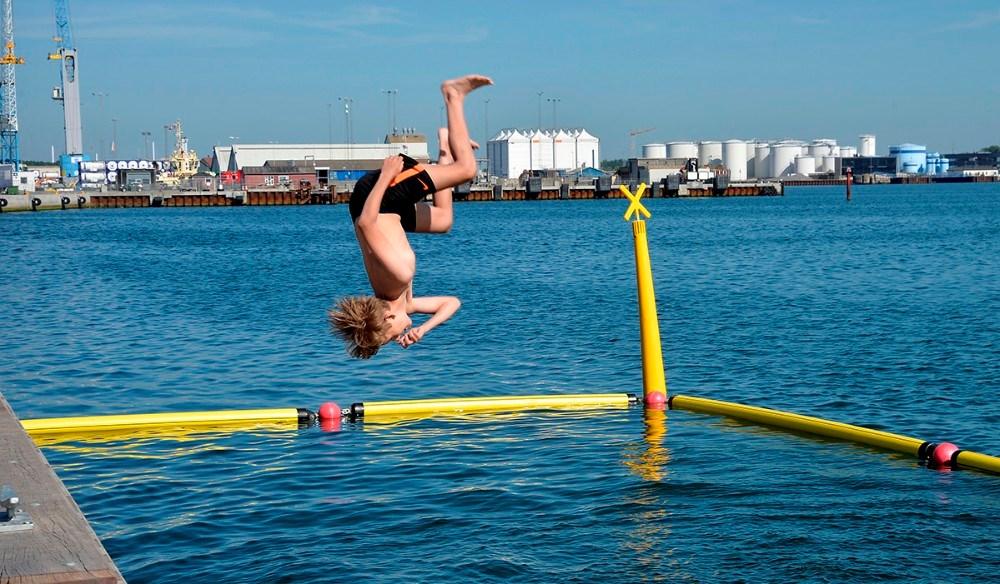 Hygge i havneparken. Foto: Jens Nielsen