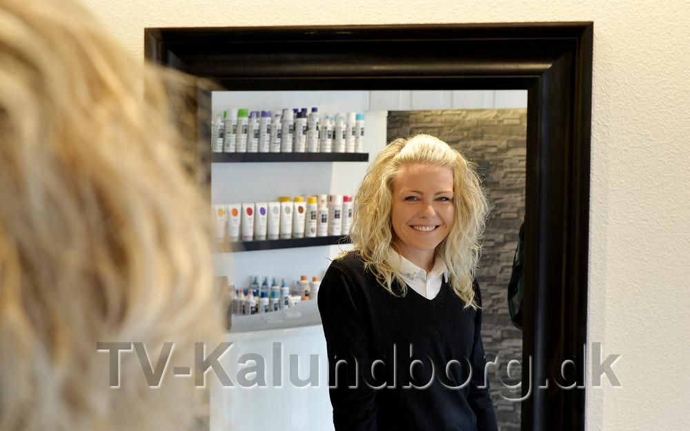 Charlotte Åkerman er helt klar til at springe ud som selvstændig frisør. Foto: Jens Nielsen