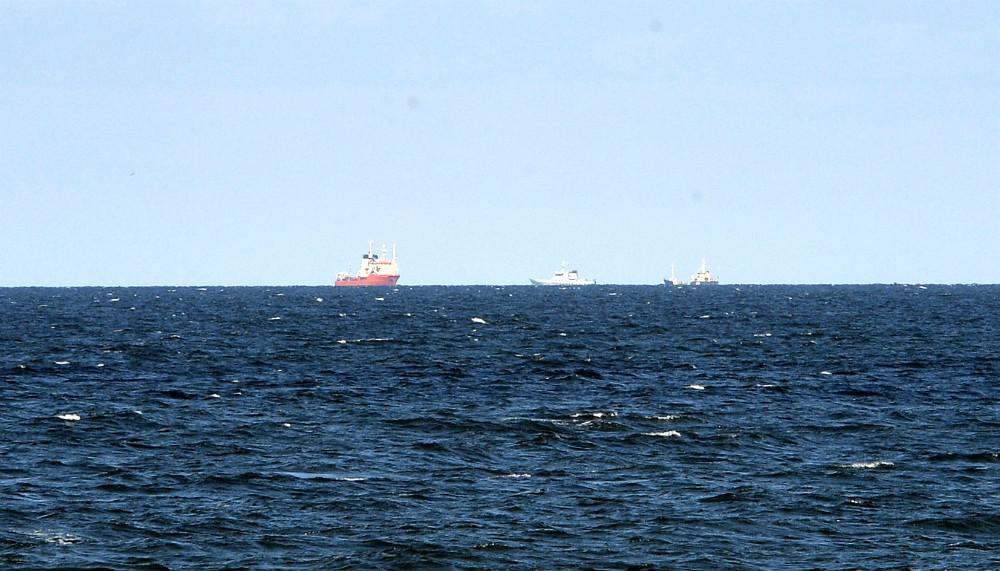 Øvelsen foregik i farvandet mellem Røsnæs og Sejerø. Foto: Jens Nielsen