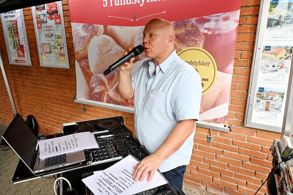 DJ Henrik Andersen. Foto: Jens Nielsen