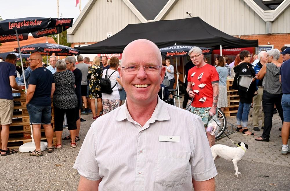 Jan Thylkjær er ansat som ny uddeler for Dagli`Brugsen Raklev og Røsnæs. Foto: Jens Nielsen