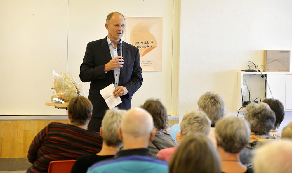 Borgmester Martin Damm bød velkommen. Foto: Jens Nielsen