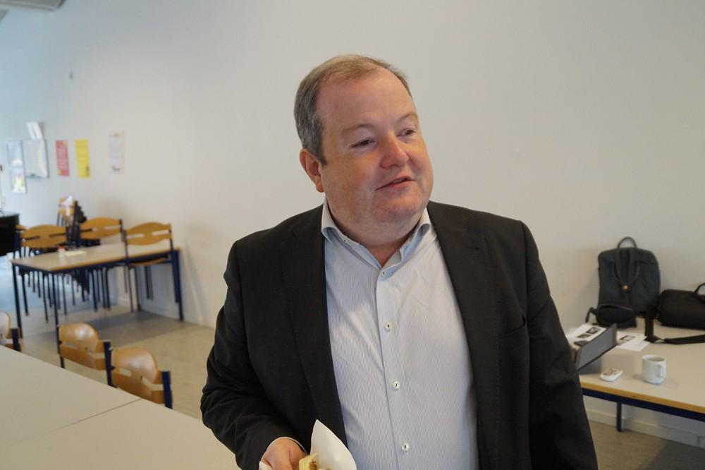 Carsten Beck fra Institut for Fremtidsforskning. Privatfoto