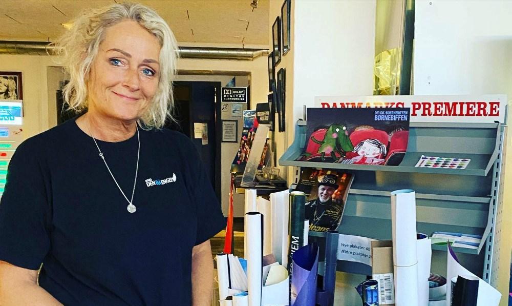 Mange lokale forretninger støtter op om Mia Reesens idé. Privatfoto.