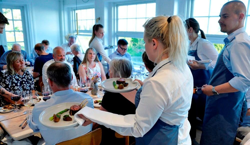 Restaurant Naes er endnu engang klar med en gourmetaften ud over det sædvanlige. Arkivfoto: Jens Nielsen