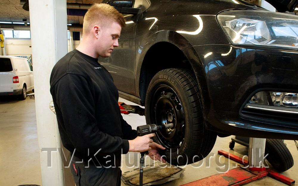 Hos VolkswagenKalundborg holder man dækweekend d. 10. og 11. november. Foto: Jens Nielsen