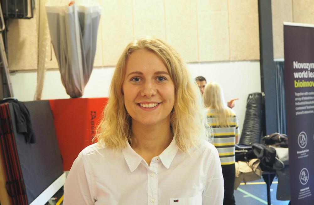 Emilie Jeppesen er studerende på 5. semester.