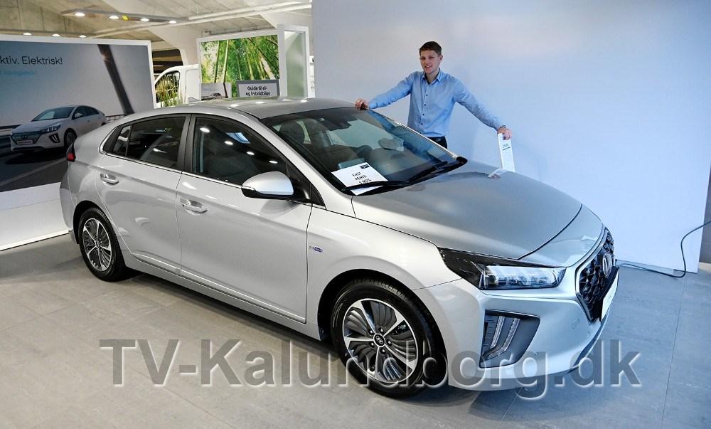 Hyundaiansvarlig David Due Larsen er klar med gode tilbud. Foto: Jens Nielsen