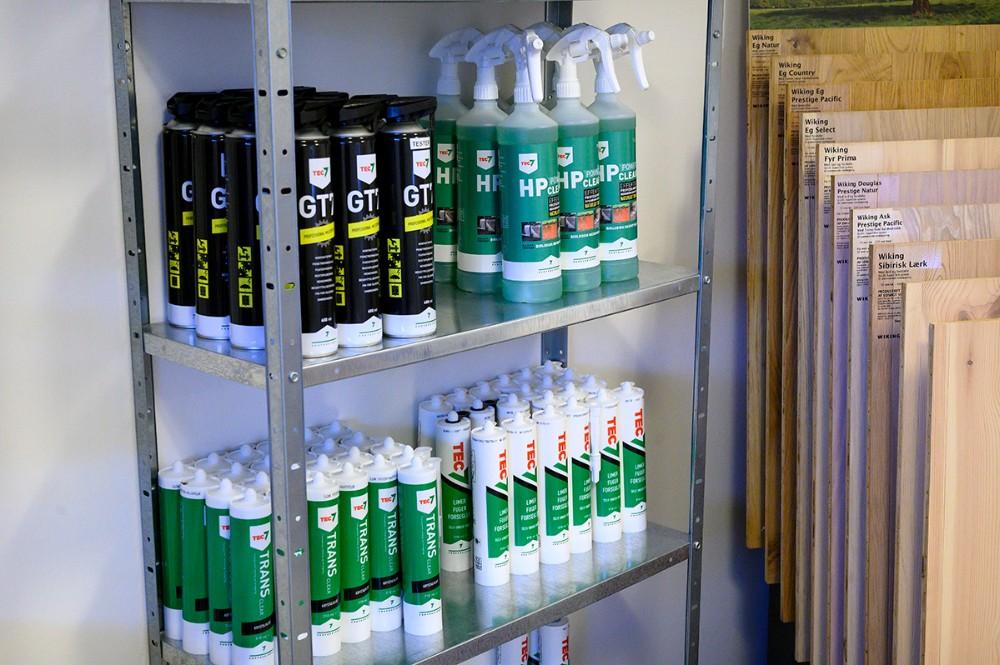Tec7 er i sortimentet i butikken hos Fixdithus.dk. Foto: Jens Nielsen