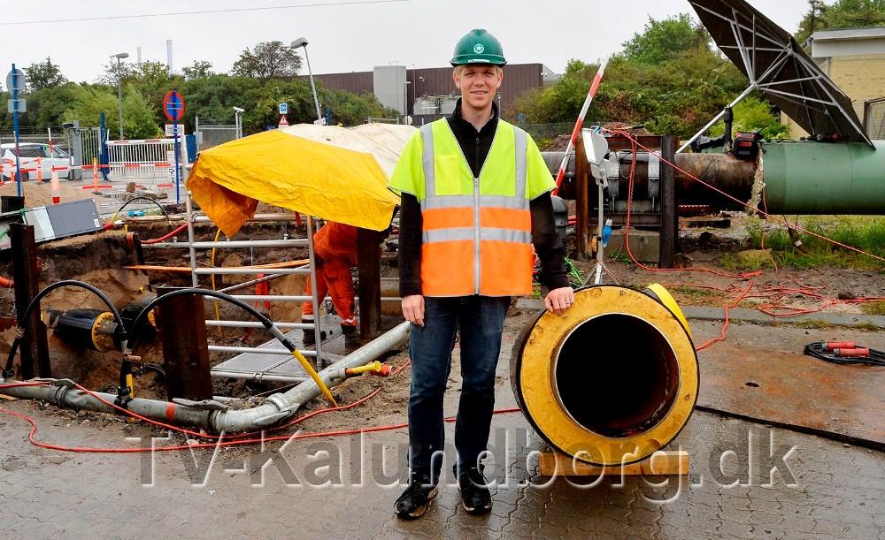 Projektleder fra Kalundborg Forsyning, Kenneth Aagaard. Foto: Jens Nielsen