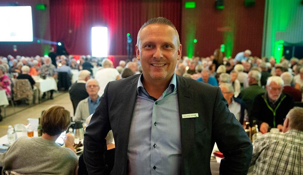 Klaus Koksby Hansen, filialdirektør i Sparekassen Sjælland-Fyn Kalundborgafd. Foto: Jens Nielsen