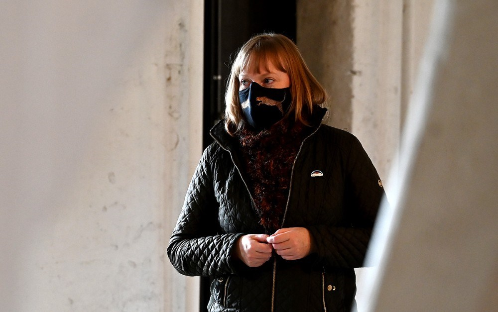 Kulturminister Joy Mogensen. Foto: Jens Nielsen