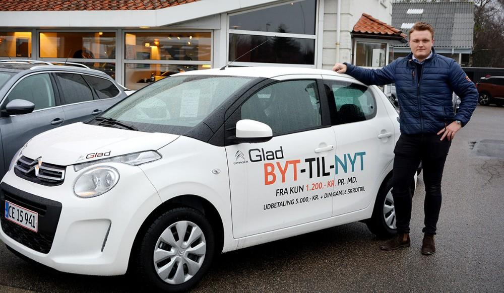 Glad på Slagelsevej i Kalundboreg er klar med maser af gode tilbud på Peugeot og Citroën modeller. Privatfoto
